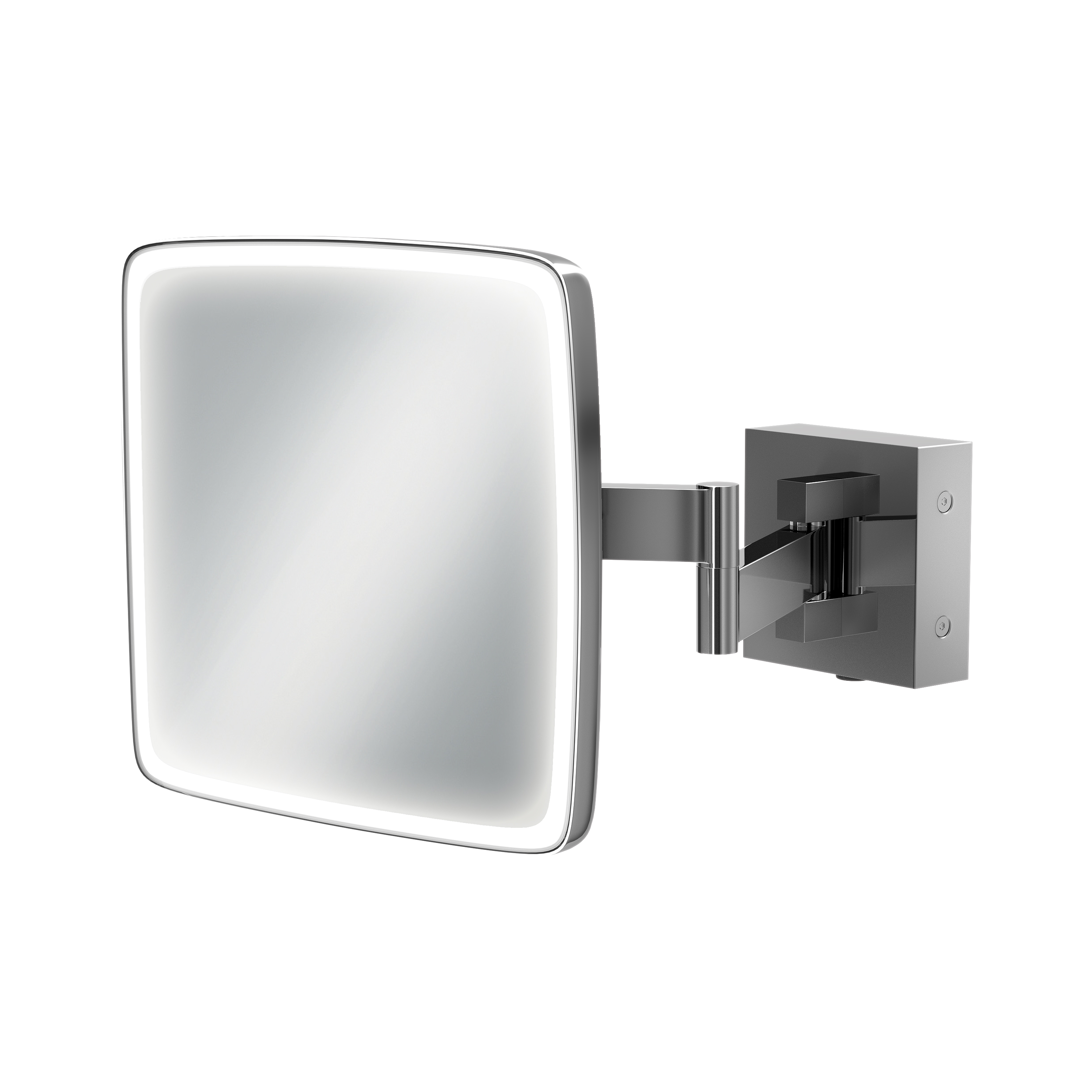 Bathroom Mirrors With Led Lights Sale Eclipse Square Mirror Hib