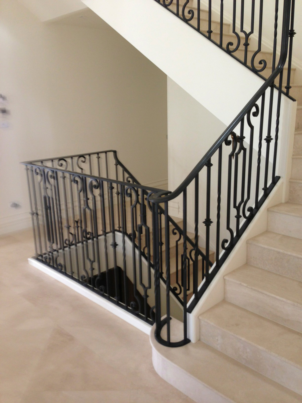 Balustrade Tangga Hiba Design And Construction Wrought Iron Balustrades
