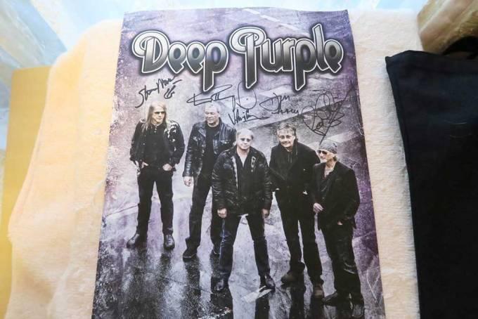 Deep Purple Vipアップグレード ポスター