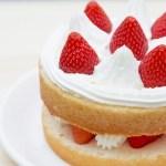 クリスマスケーキ☆2人用を手作りで♪簡単レシピ