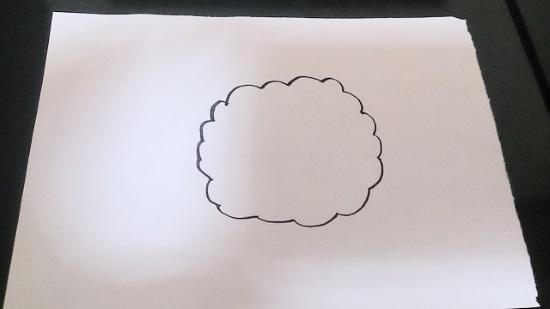 簡単な羊1