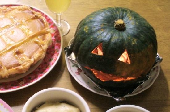 ハロウィンかぼちゃ切り方