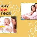 年賀状フレームの写真の入れ方。テンプレートを簡単に使おう!