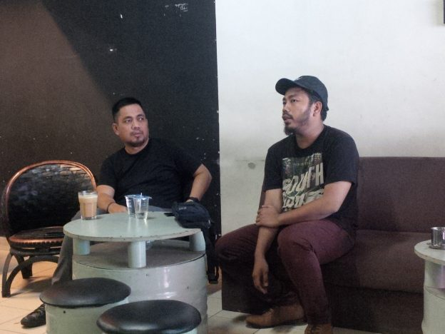 Event Director MECNESIA Fest‎ 2018, Andi Muhammad Ikhlas didampingi CEO MEC Indonesia‎, Chandra Mindset‎.