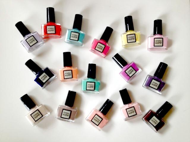 Product Review Jenna Hipp Mini Nail Polish Collections