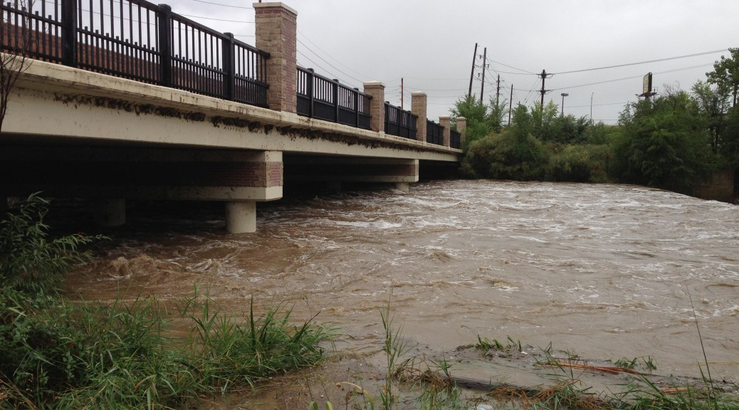 Worst flood in a century disrupted Colorado's Front Range