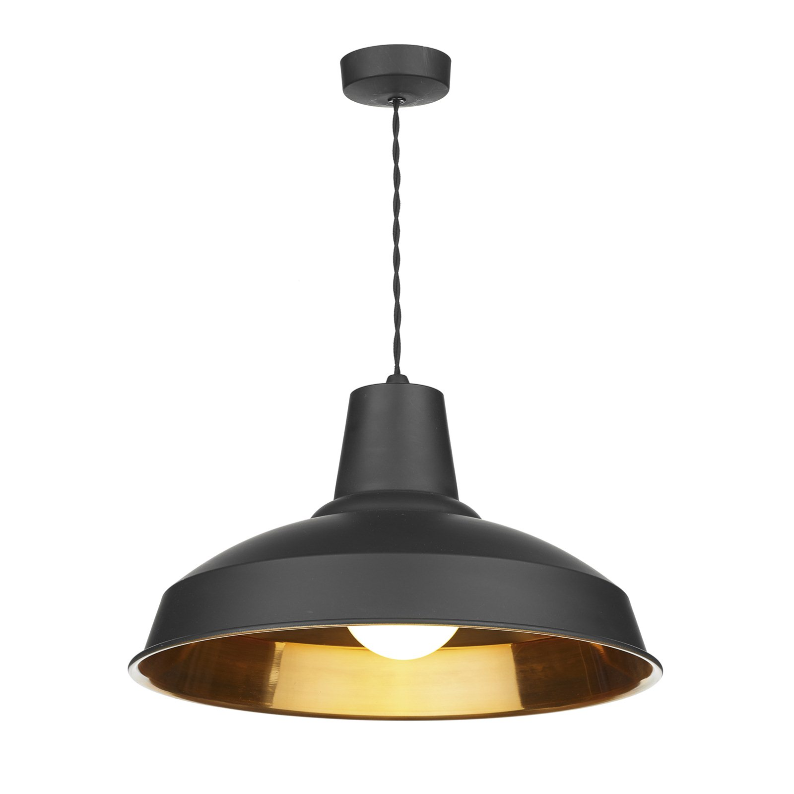Copper Lighting Pendant Hicks And Hicks Calstock Pendant Light Black And Copper