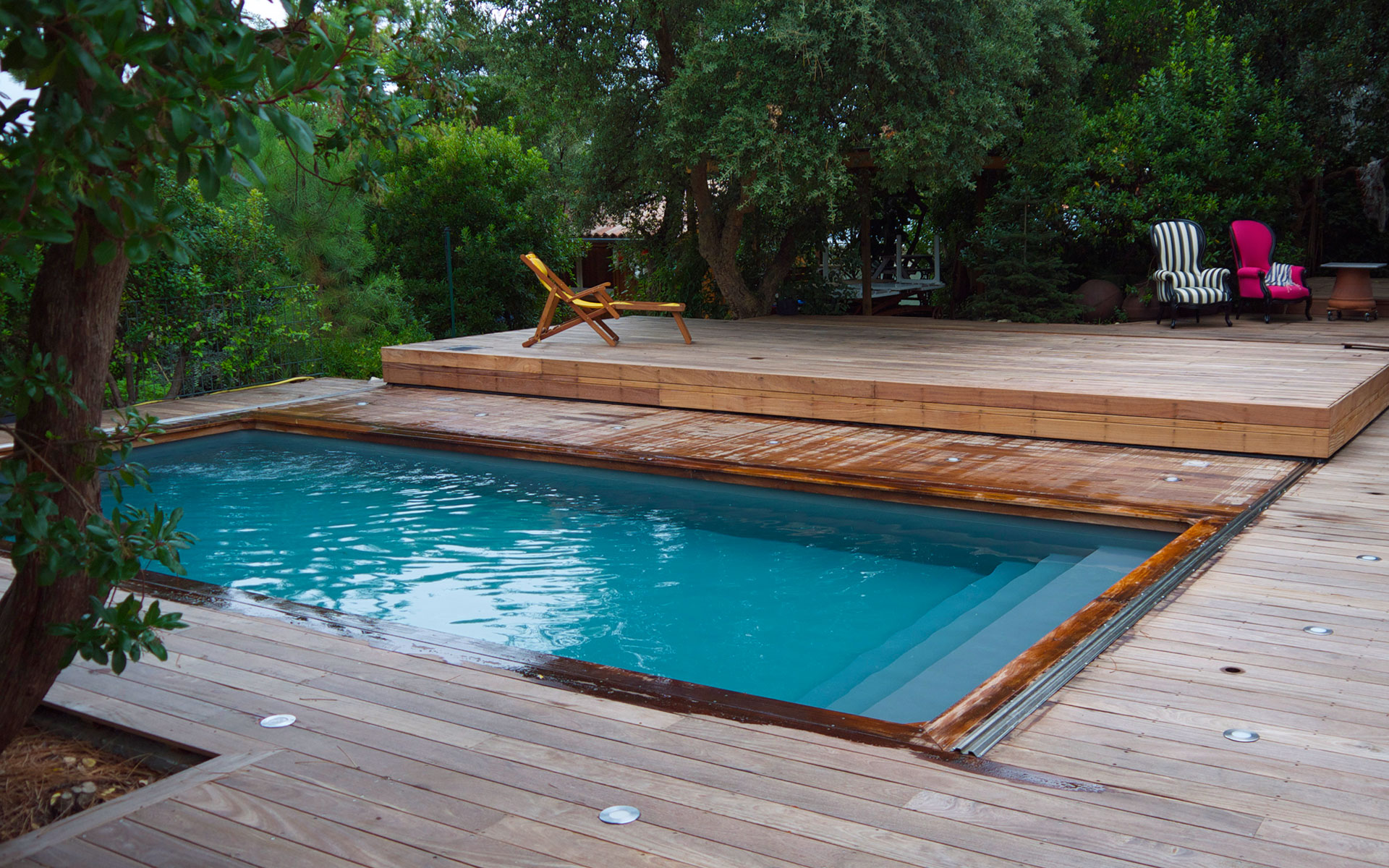 Terrasse Coulissante Terrasse Mobile Pour Piscine Hidden Pool Fond Mobile Pour