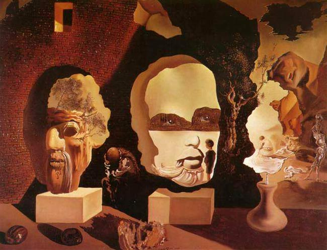 Cuadro De Salvador Dali Hidden Faces | Hidden111's Blog