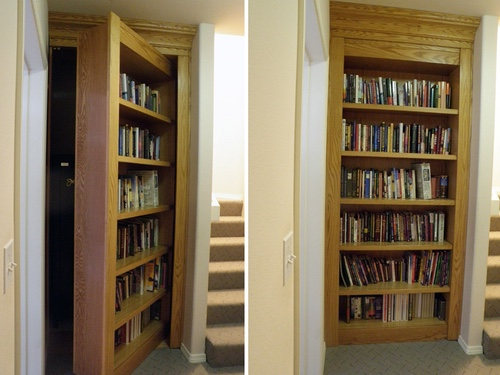 installed-single-bookcase-recessed