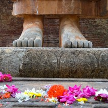Buddha's feet in Sri Lanka