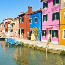 Multicolored Burano Island