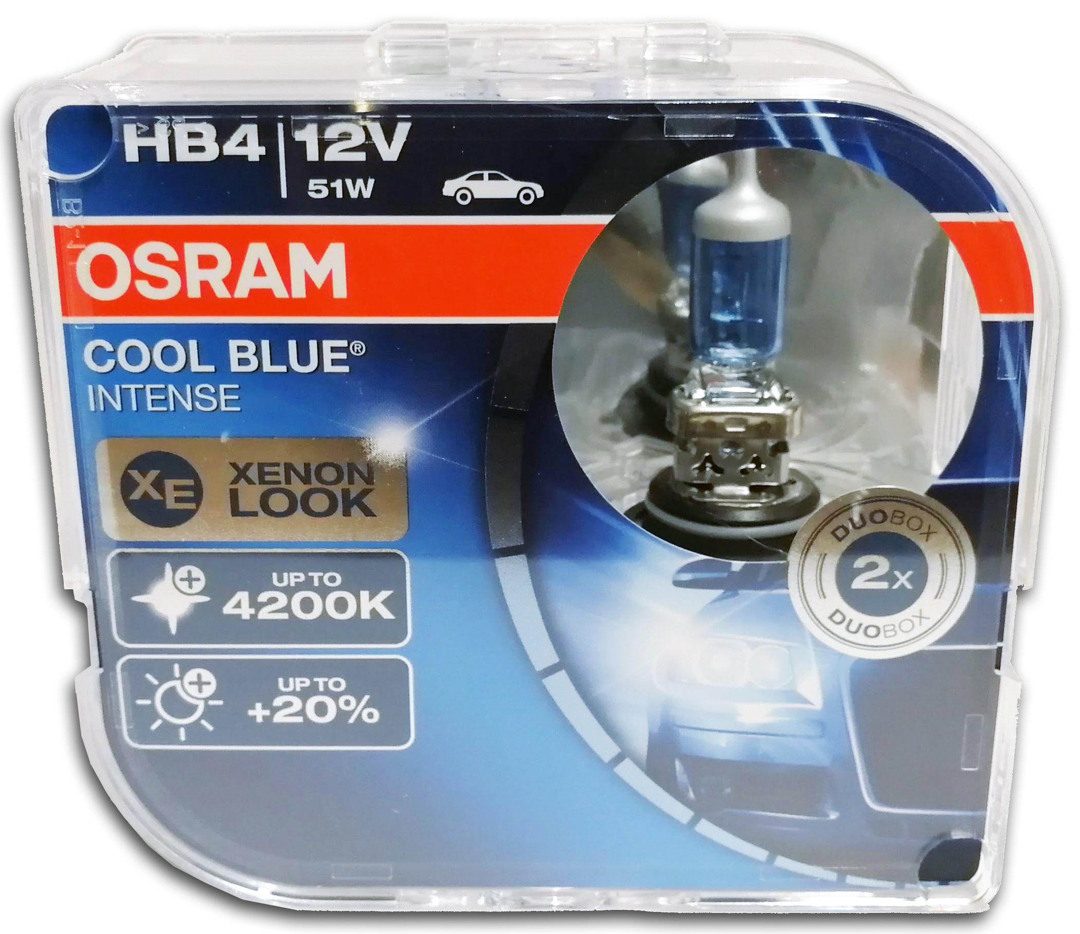 Xenon Verlichting En Halogeen Osram Cool Blue Intense Hb4 9006 Halogeen Lamp 9006cbi Hcb