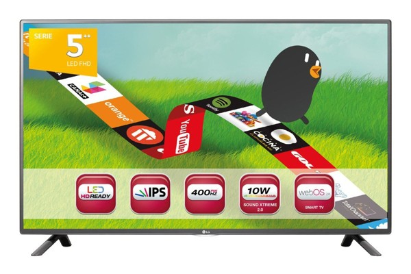 LG 32LF592U 32 Zoll LED Smart-TV unter 200 Euro