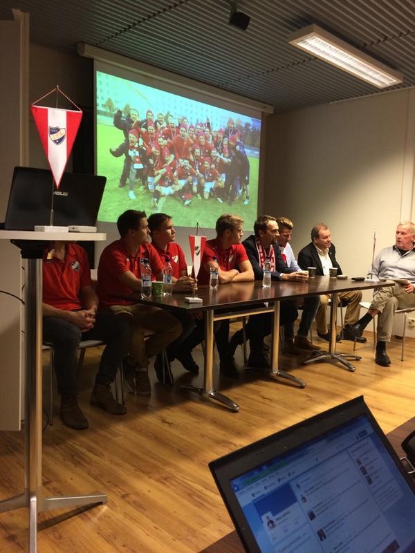 HIFK kertoi ensimmäisistä pelaajasopimuksista maanantaina järjestetyssä tiedotustilaisuudessa.