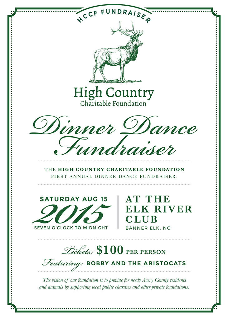 Dinner Dance Fundraiser High Country Charitable Foundation