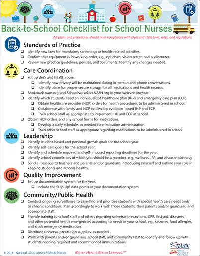 Back-to-School - National Association of School Nurses