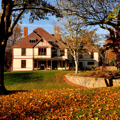 Fall Cape Cod Wallpaper Fall Open House Highfield Hall And Gardens