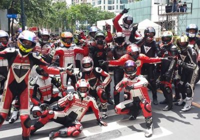 Ducati Philippines at Globe SlipSteam