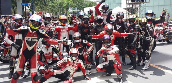 Ducati Philippines at Globe SlipSteam