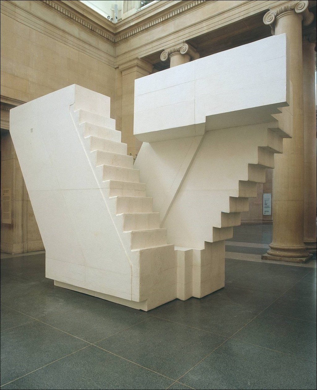 Untitled (Stairs) 2001 by Rachel Whiteread born 1963