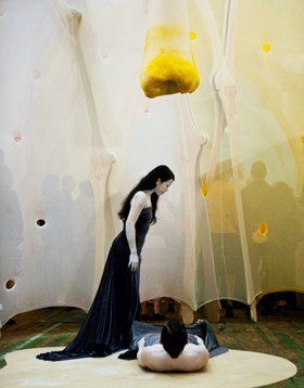 Ernesto Neto and SHEN WEI DANCE ARTS  anthropodino