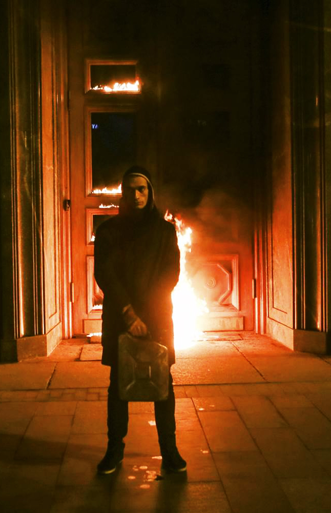 Pyotr Pavlensky   Threa