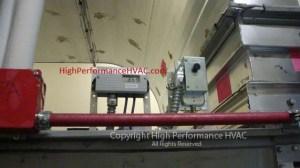 Air Handler Filter Pressure Sensor and Low Static Pressure