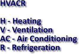 HVAC Definitions