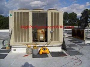 Refrigerant Pump-Down Method