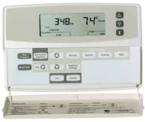 Honeywell Chronotherm Plus 8624D Thermostat with a Trane XL19i