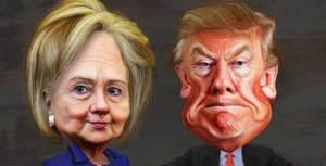 Clinton-and-Trump