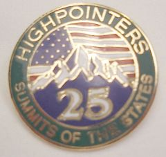 25 State Enameled Pin – Awards are for current club members only