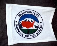 Club Pennant, white with logo, individually numbered