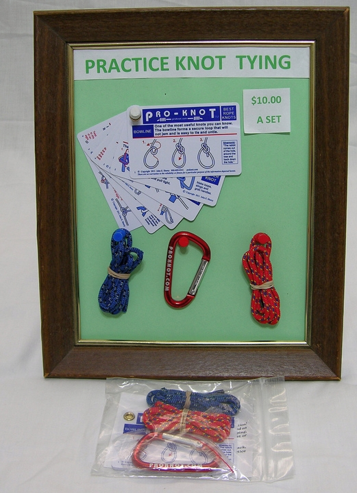 Pro-Knot Do-it-yourself knot tying package