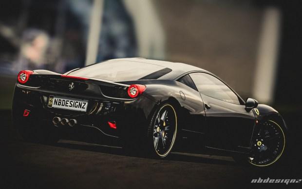 New Bugatti Car Wallpaper Ferrari Black Edition Desktop Background Highqualitycarpics