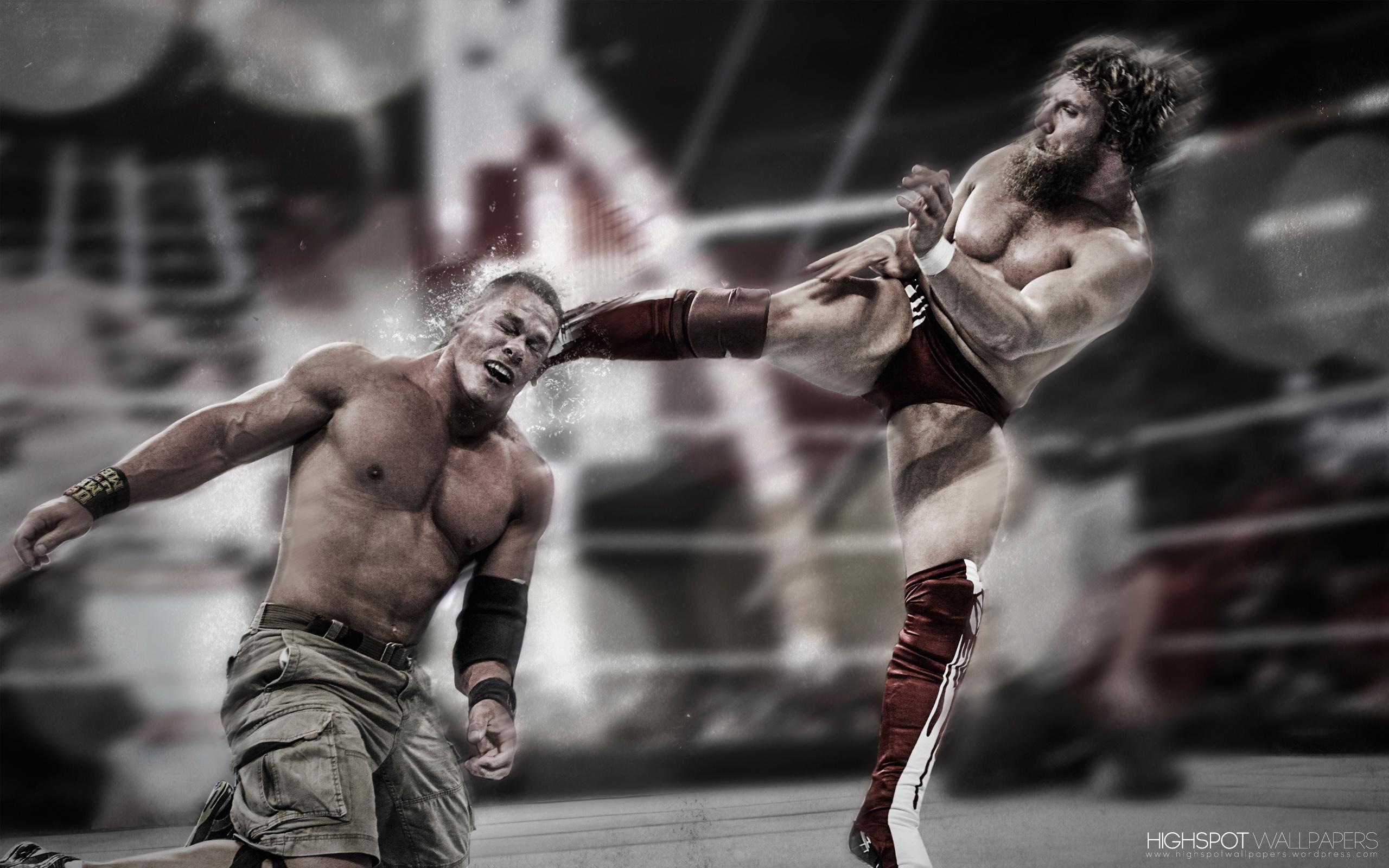 John Cena Iphone Wallpaper Daniel Bryan Lights Out Series Wallpaper Highspot