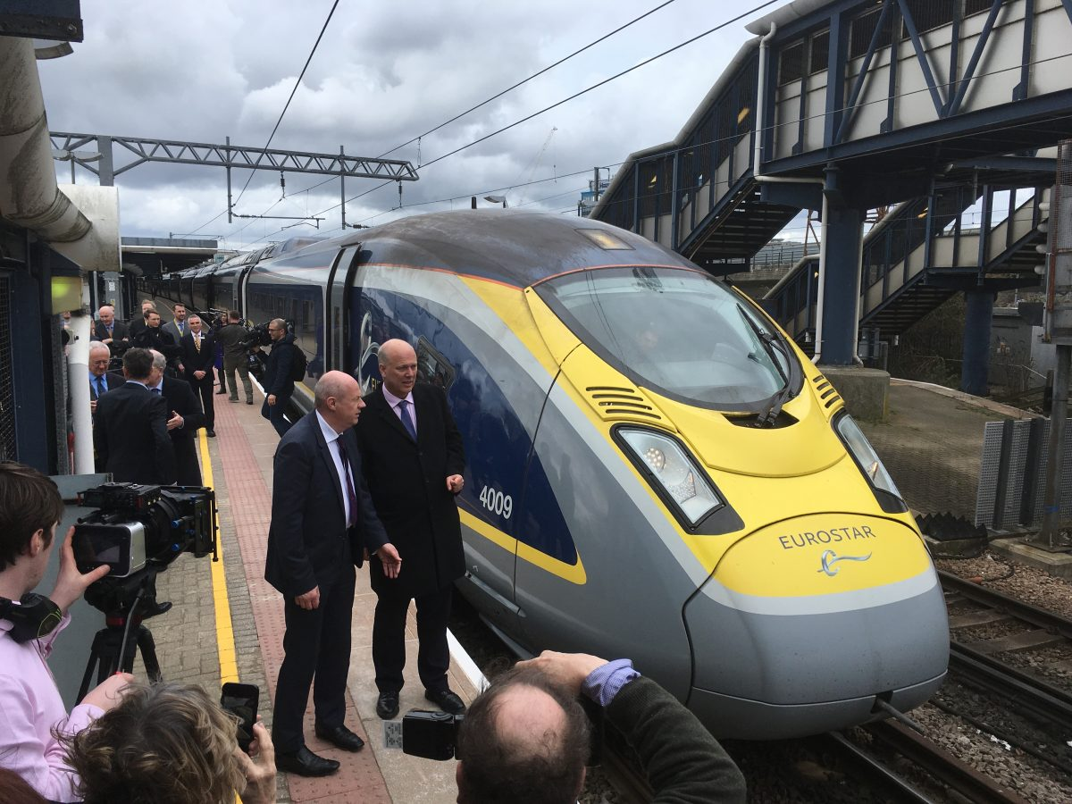Ashford Paris High Speed Passenger Trains Now Run From Ashford International To