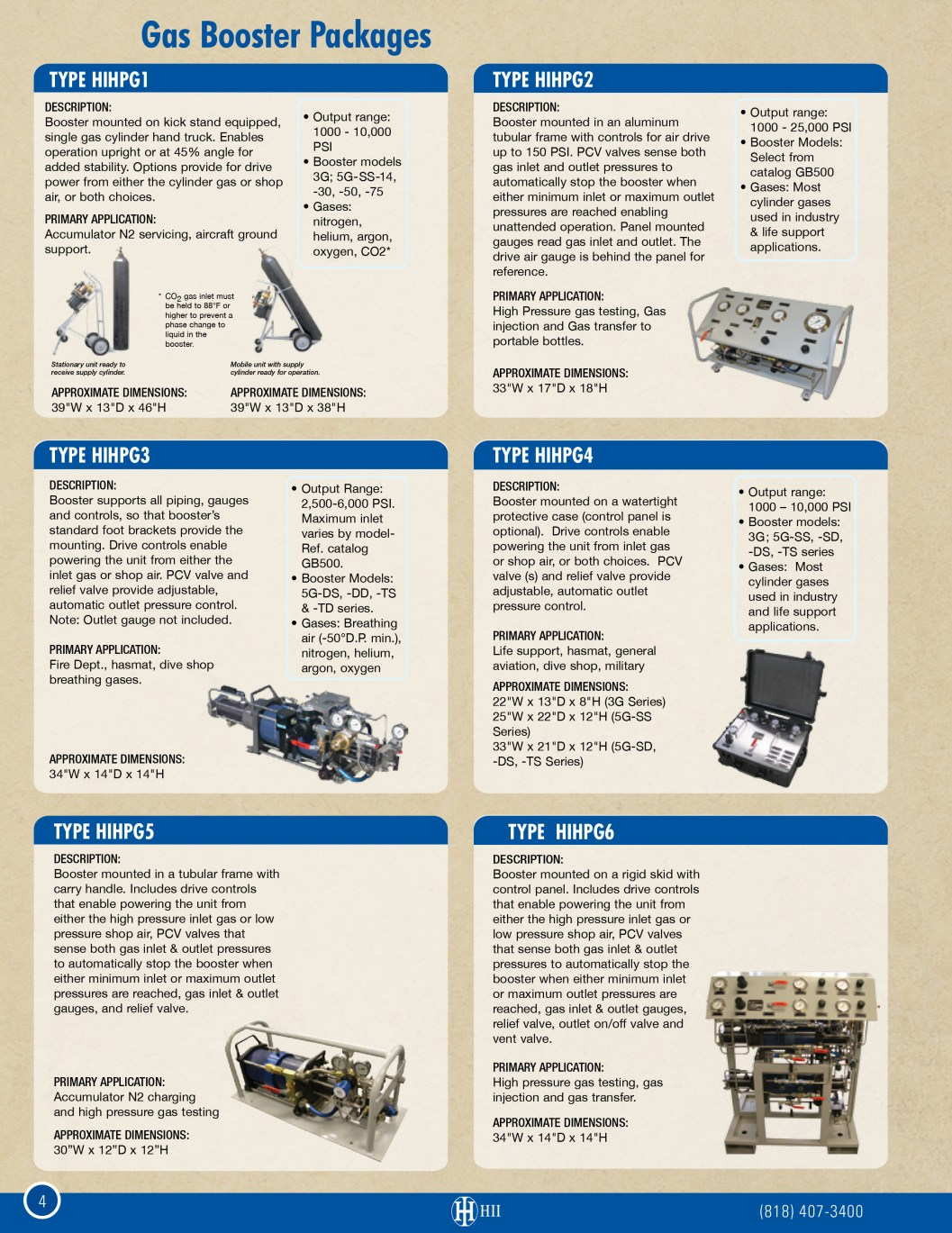 Gas Booster Packages