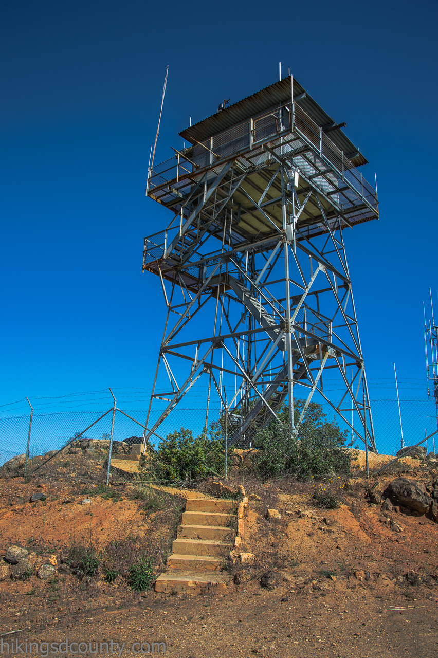 Fire lookout towers archives hiking san diego county for Fire lookout tower plans
