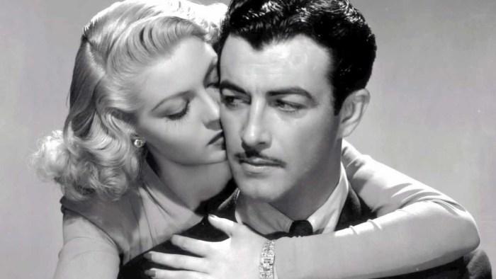 Dos bellos, Lana Turner y Robert Taylor, en un senda prohibida...