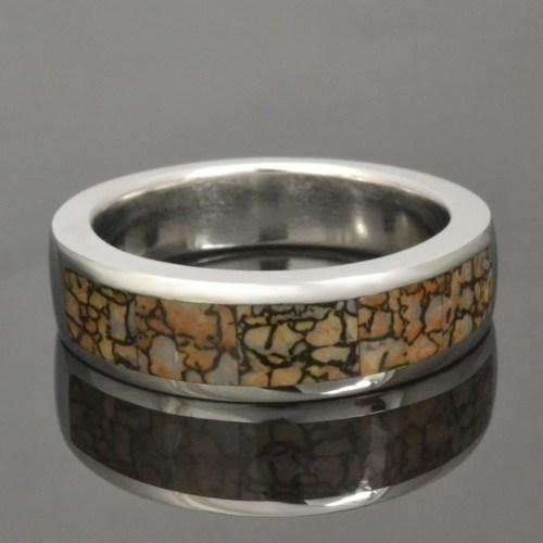 Medium Of Dinosaur Bone Ring