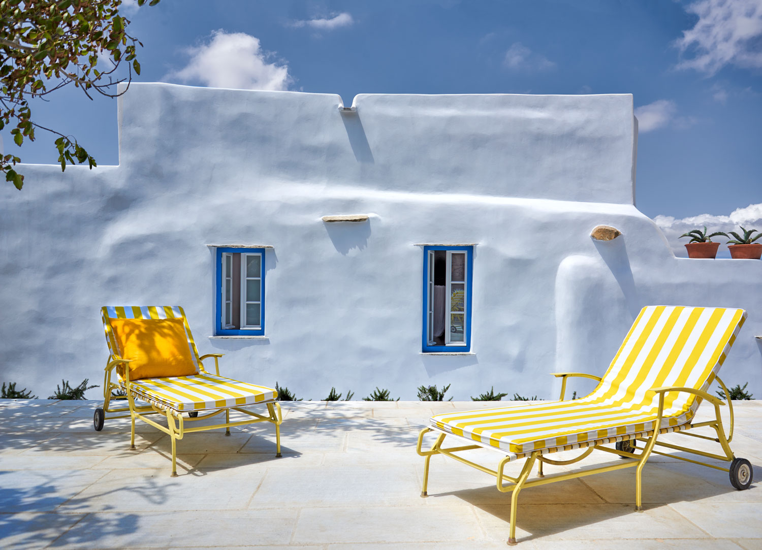 Sofa House Greece A Stylish New Holiday House On The Greek Island Of Tinos Hill Dean