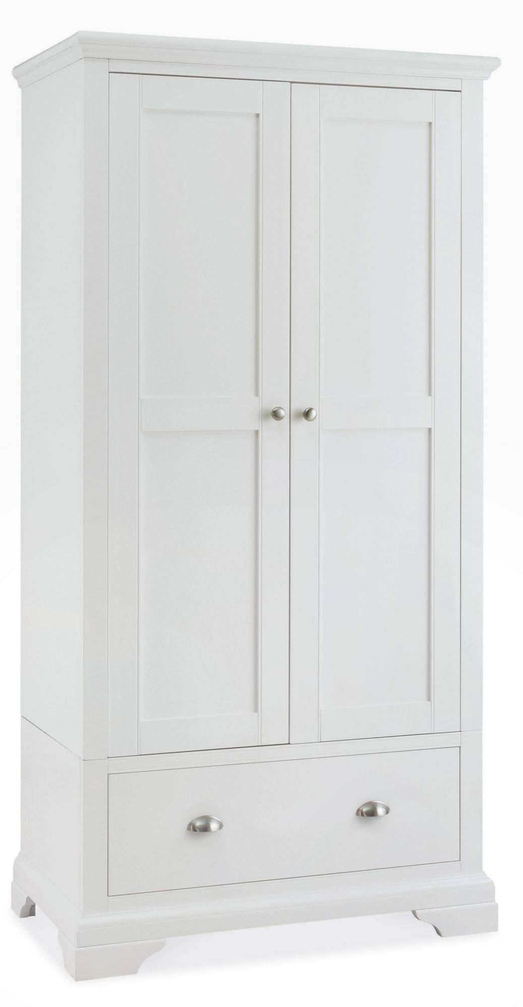White Bedroom Wardrobes Fairford White Double Wardrobe Bedroom Furniture Hills