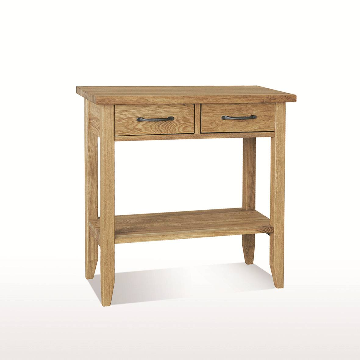 Dining Table Console Windsor Dining Console Table 2 Drawers With Shelf