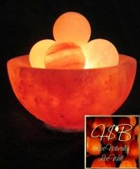 Abundance Fire Bowl Lamps - Himalayan Salt Boutique