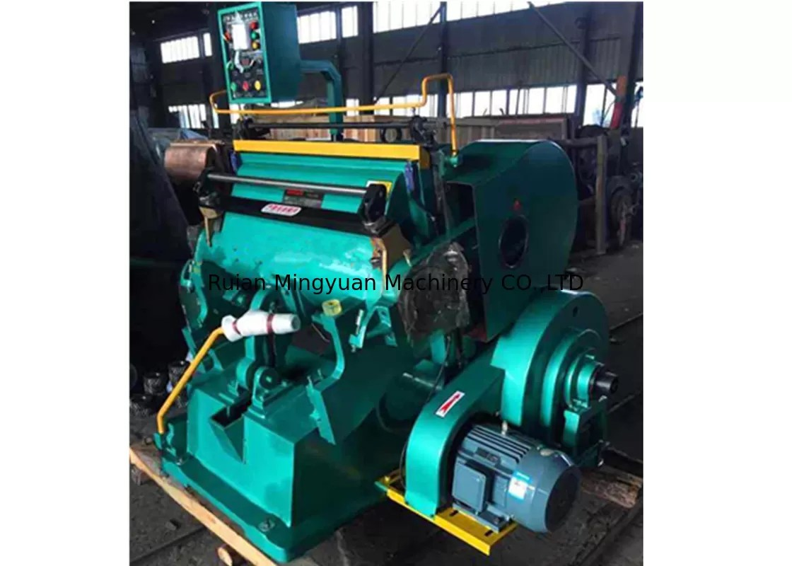 Bearing Machine Oil Lubrication System Paper Plate Die Cutting Machine Plain
