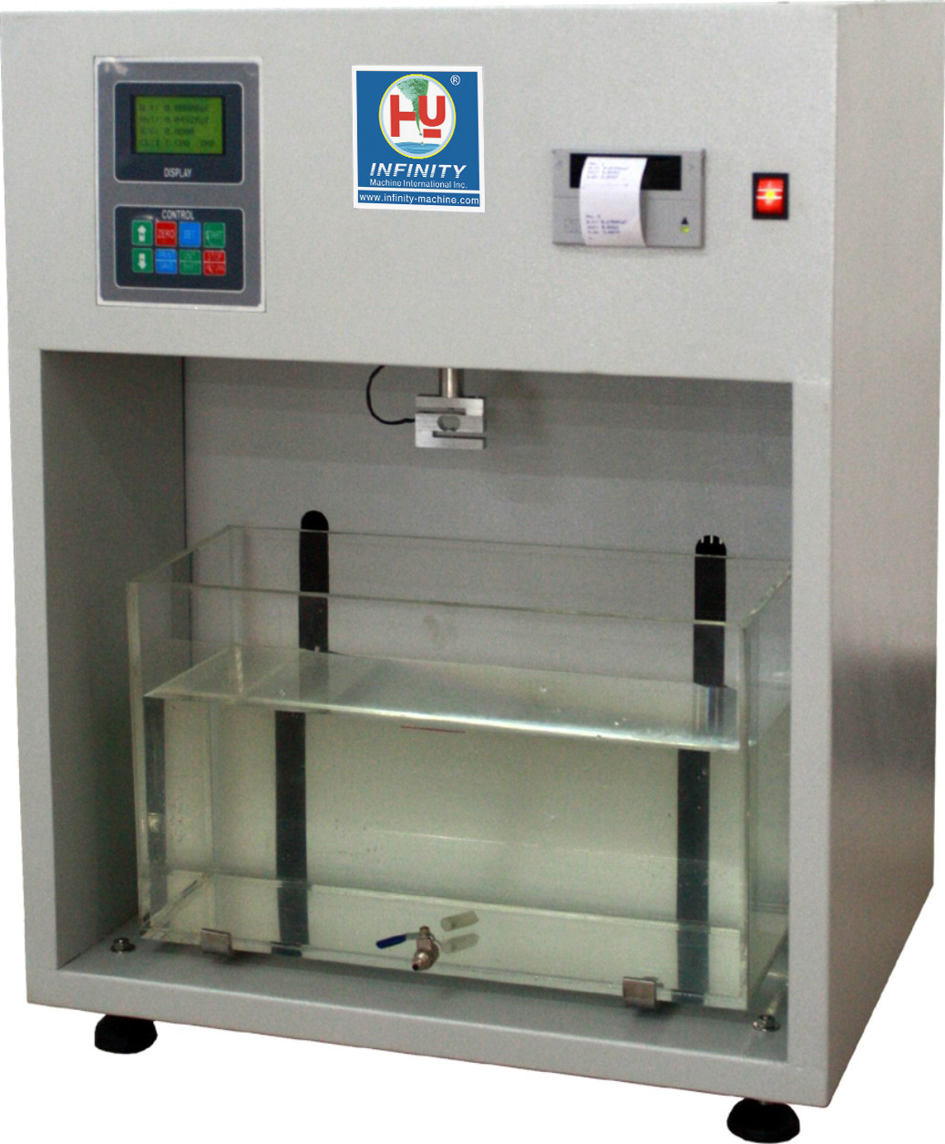 Density Testing Automatic Rubber Plastic Testing Machines Digital 1000 G For