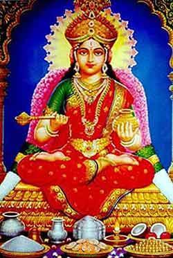 Goddess Annapurnadevi