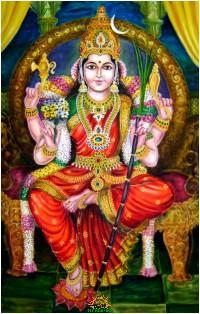 Goddess Rajarajeshwari